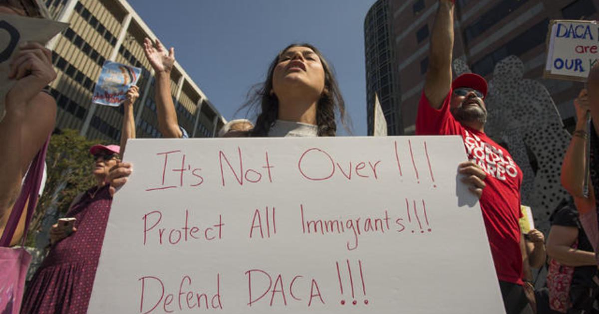 """Undocumented immigrants make case for saving """"Dreamers"""" program"""