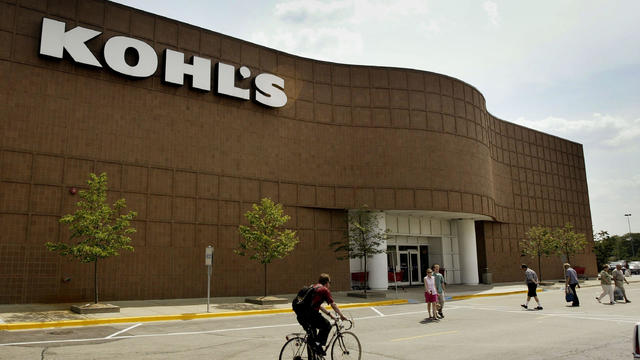 Shoppers come and go outside Kohl's in Niles, Illinois