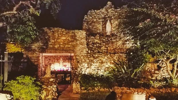 catholic grotto key west florida hurricane irma
