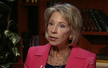 Betsy DeVos announces rollback of Obama-era policies on campus sexual assault allegations