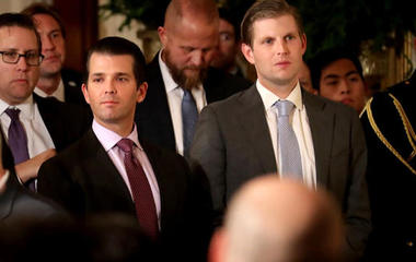 Trump Jr. testifies on meeting with Russian lawyer