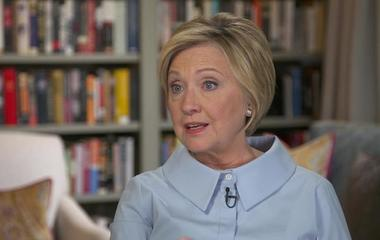 Hillary Clinton on losing the election
