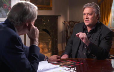"""Hillary Clinton's not very bright,"" says Steve Bannon"