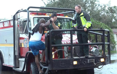 Scores of water rescues made across Florida