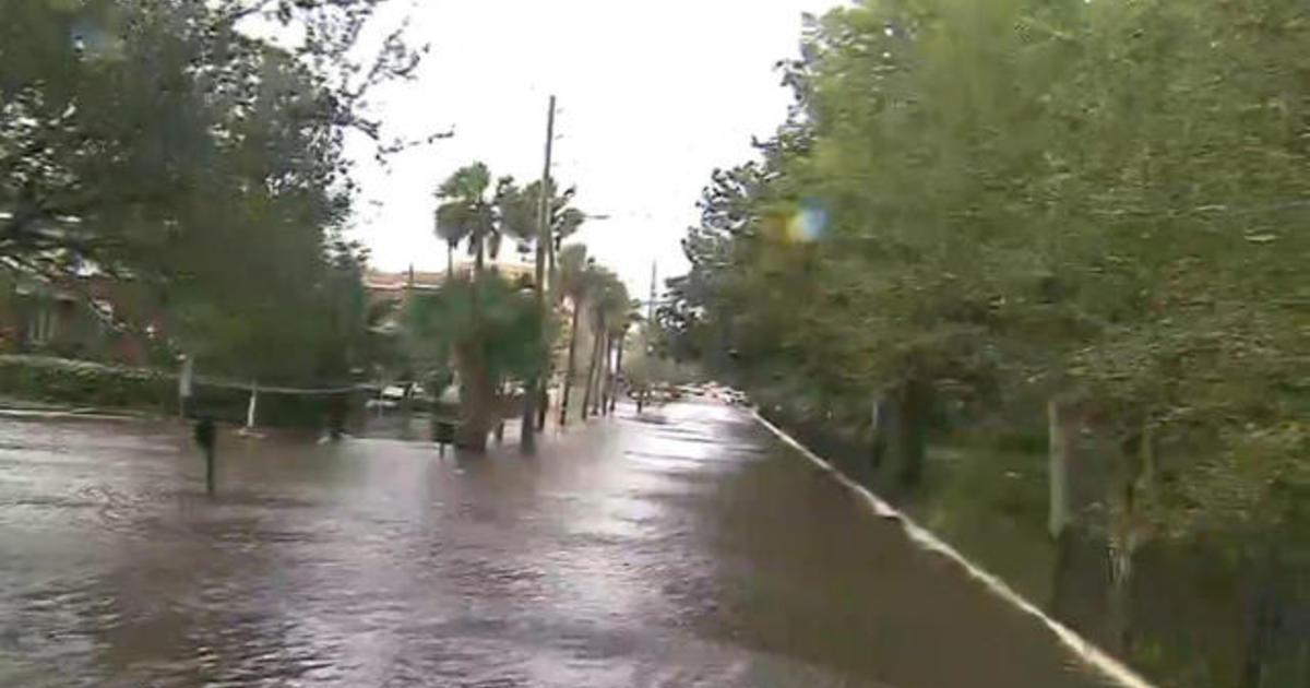 Jacksonville, Florida hit with historic flooding - CBS News