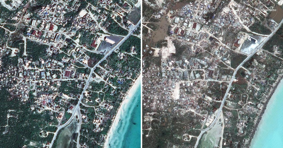 Providenciales Before Amp After Satellite Photos Of
