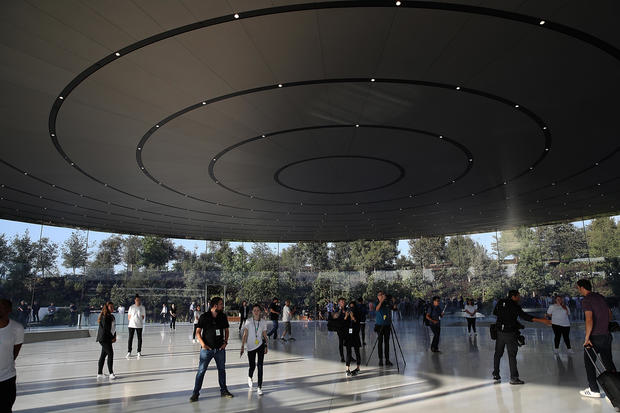 Apple Holds Product Launch Event At New Campus In Cupertino