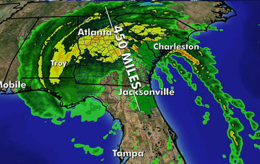 Irma batters Florida, heads north