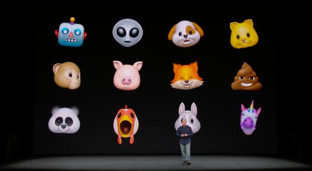 Apple introduces Animojis