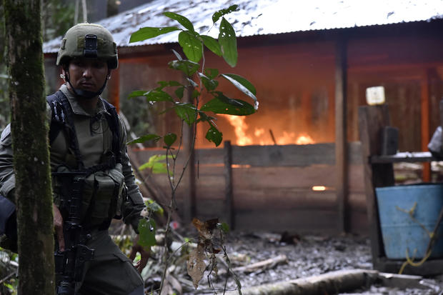 COLOMBIA-DRUGS-LAB-SEIZURE
