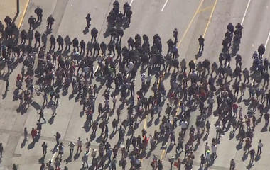 Protesters take to St. Louis streets after ex-cop acquitted