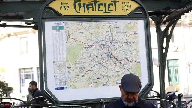 France Soldier Targeted