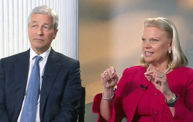 """IBM CEO Ginni Rometty: Tax code is """"uncompetitive"""" and """"out of date"""""""