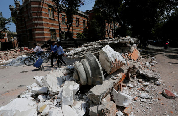 Major earthquake hits Mexico