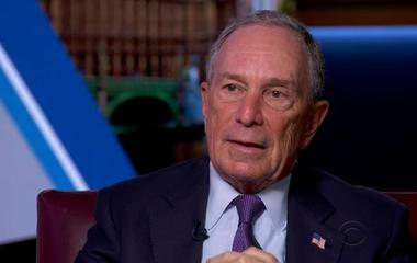 Bloomberg reflects on decision not to run for president