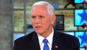 "Vice President Mike Pence says ""we have options"" in North Korea"