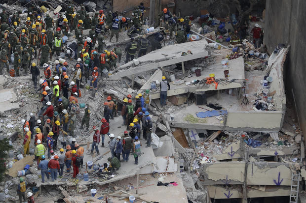 Mexico: 6.2-magnitude natural disaster  strikes capital as rescue efforts continue