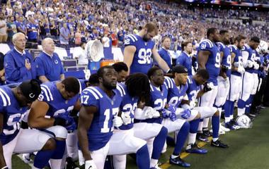 """""""Huge divide"""" over NFL anthem protests"""