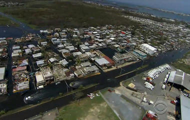 Dam on verge of collapse in hurricane-ravaged Puerto Rico