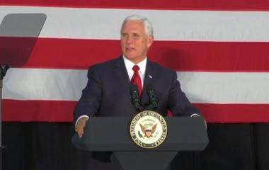 Pence rallies for Sen. Luther Strange in Alabama
