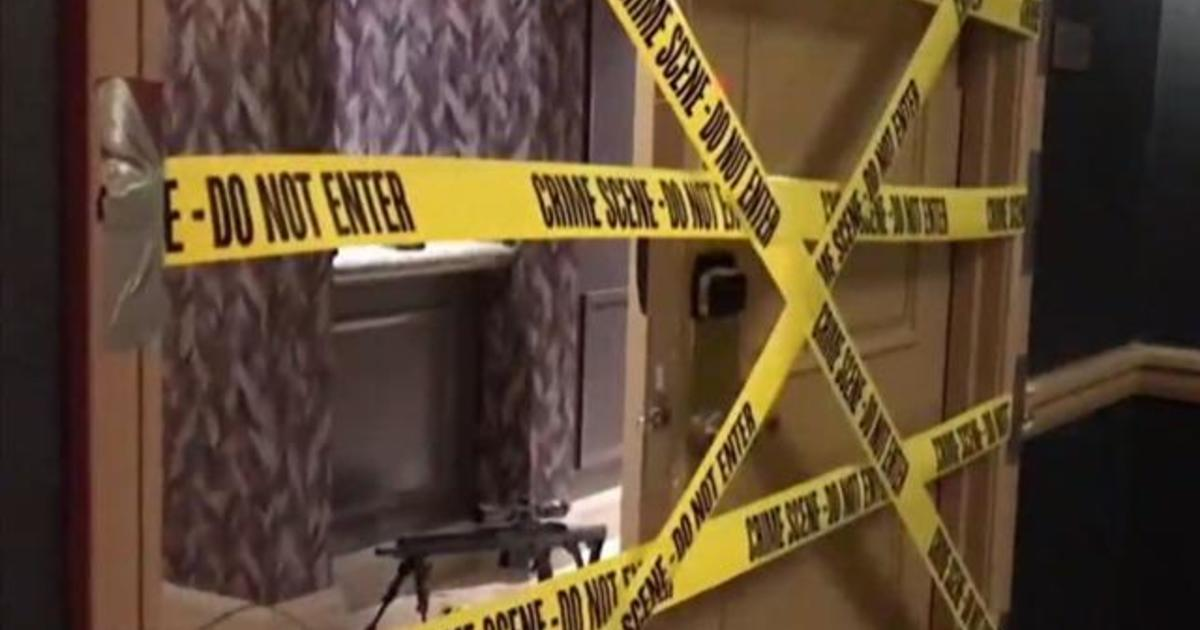 Room Pictures video shows inside las vegas shooter's hotel room - videos - cbs news