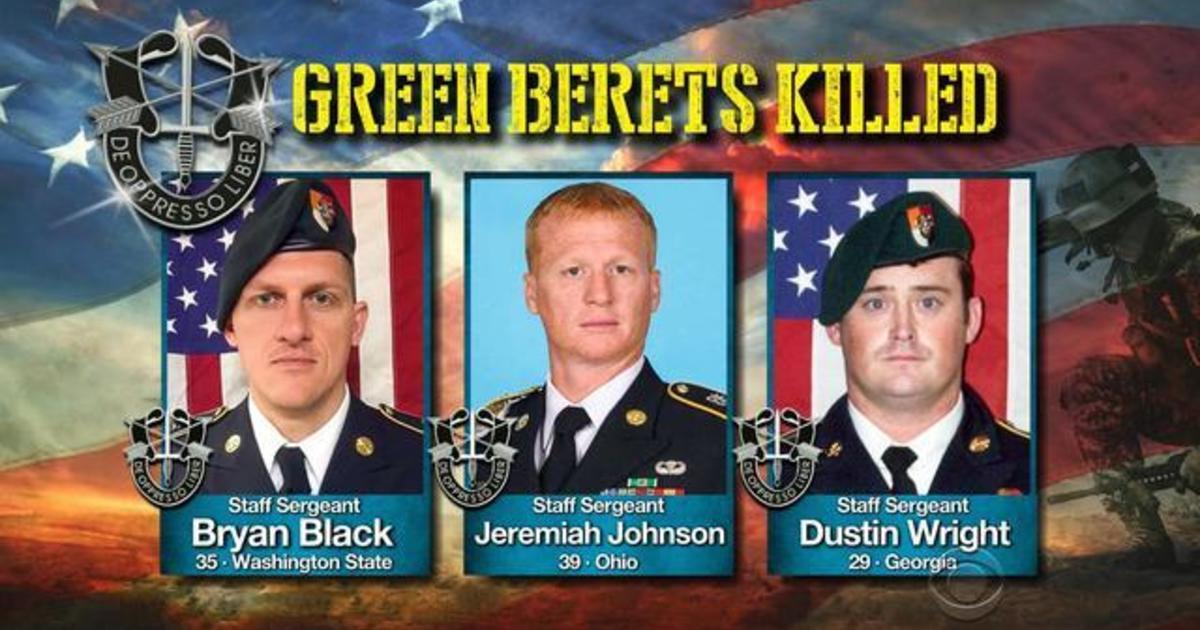 0dba5e7a90d4a Fourth Green Beret killed in Niger ambush - CBS News