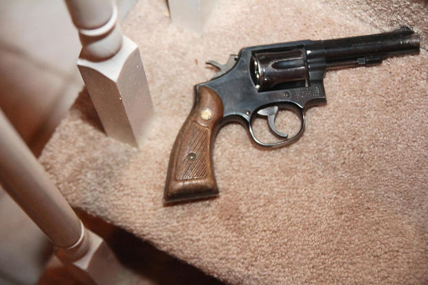 Gilhuley gun evidence photo