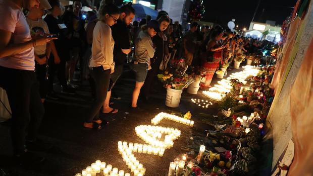 Mourners Marks 1st Anniversary Of Orlando Pulse Nightclub Mass Shooting