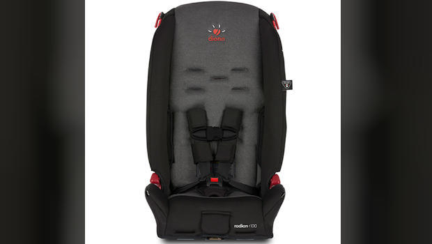 Diono issues national recall for 500K car seats - CBS News