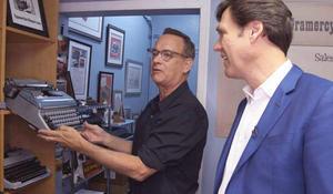 Tom Hanks: Actor, typist