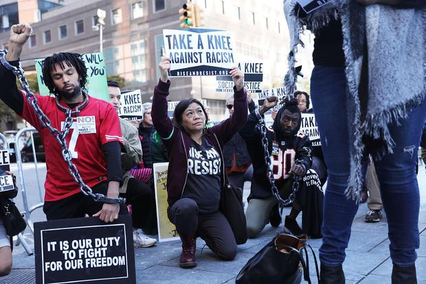 black lives matter new york nfl protests