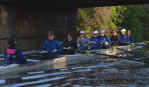 Women race on the water with much more at stake than finishing first