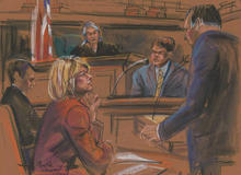 Courtroom blueprint artists: Documenting story where cameras aren't allowed