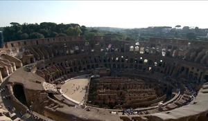 Roman Colosseum reopens with new views