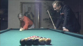 When Morley Safer played pool with Jackie Gleason