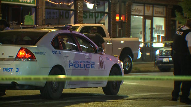 St. Louis police car