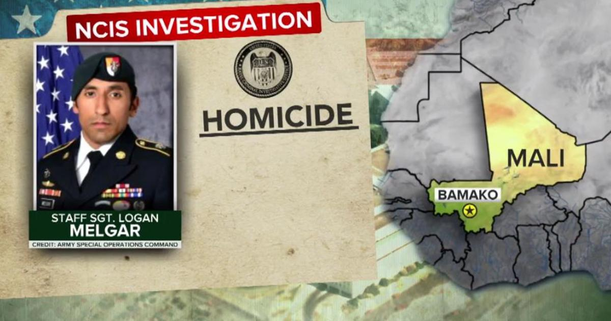 a37bc2f539d Logan Melgar s death  2 Navy SEALs and 2 Marines charged in Green Beret s  strangulation death - CBS News