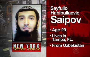Suspect named in NYC terror attack