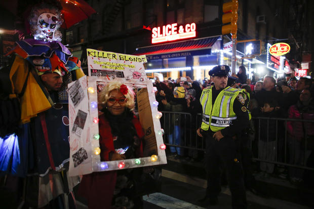 NYC Halloween parade goes on after terror attack