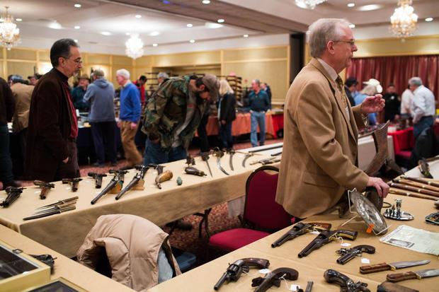 Gun Show Held In Stamford, Connecticut