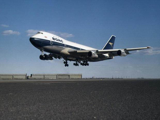Schematic - Boeing's 747, the