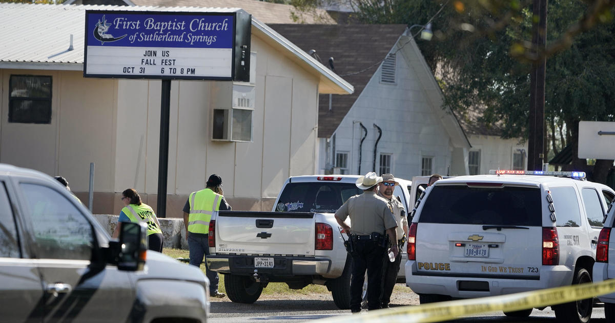 Texas Shooting At First Baptist Church In Sutherland Springs Leaves