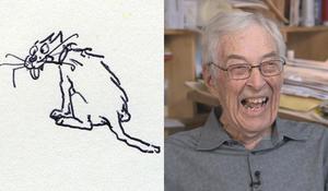 New Yorker cartoonist George Booth