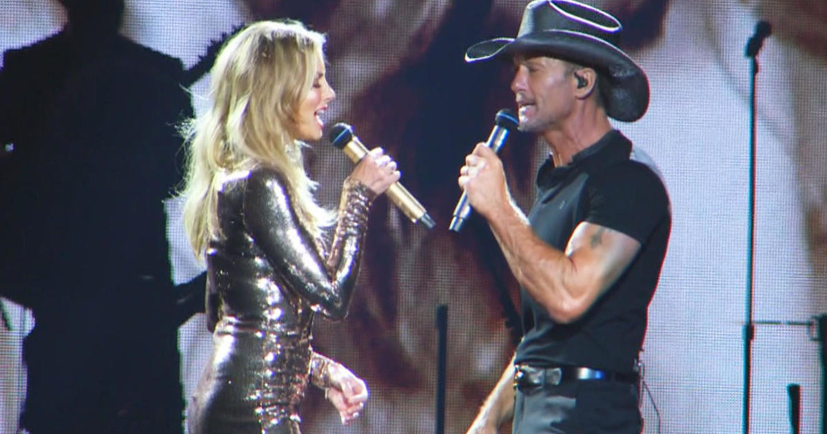 Tim mcgraw faith hill in harmony cbs news for How old are tim mcgraw and faith hill s kids