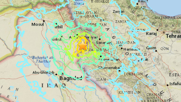 7.2 magnitude earthquake kills at least 30 in Iran