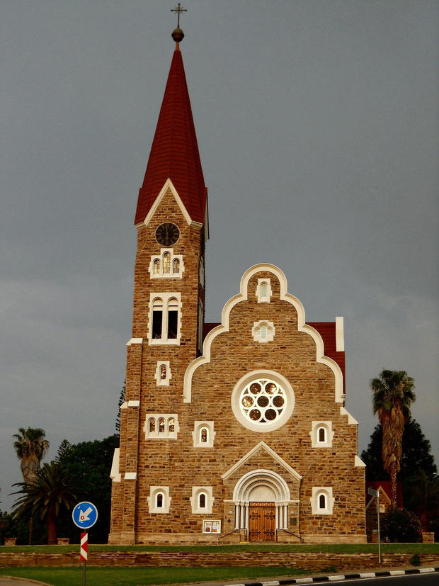 NAMIBIA-GERMANY-CENTENARY-CHURCH