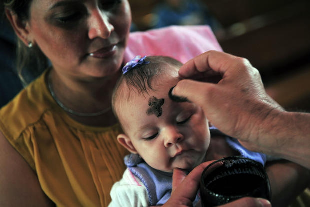 NICARAGUA-RELIGION-ASH WEDNESDAY