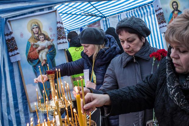 Ukrainian MPs Vote To Oust President Viktor Yanukovych