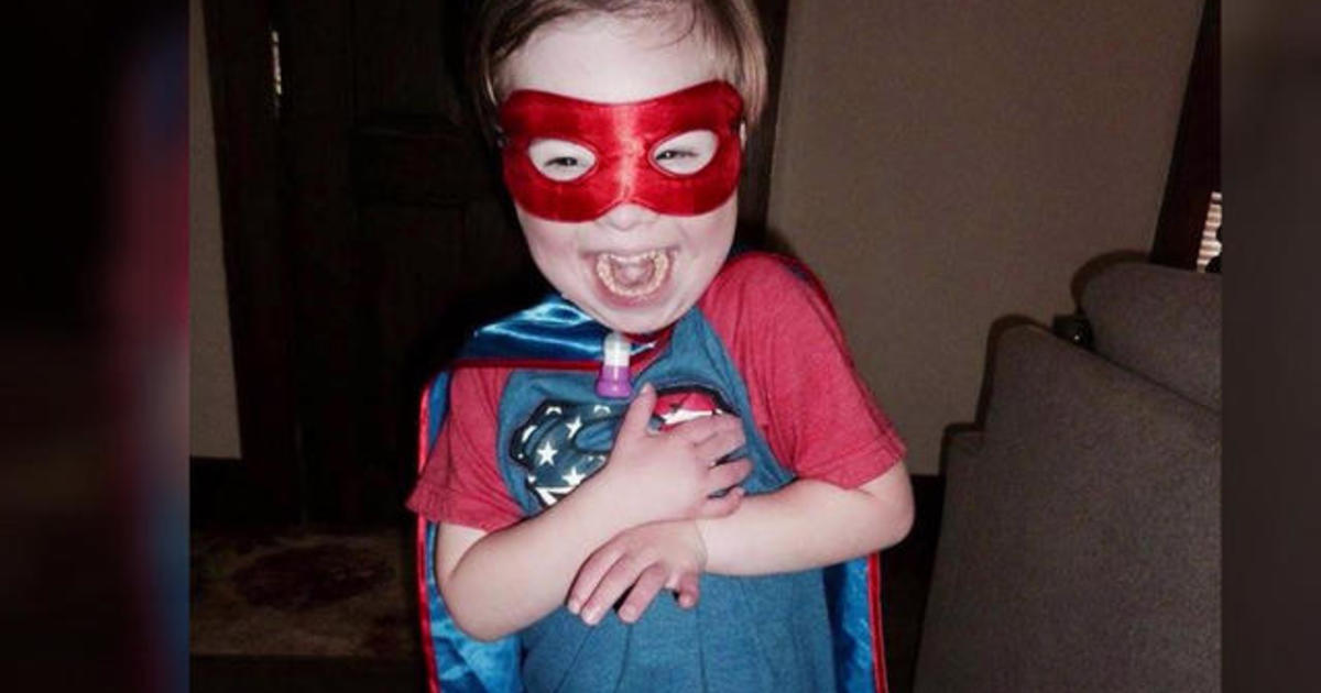 Man inspired to create comic book character with Down syndrome for his son