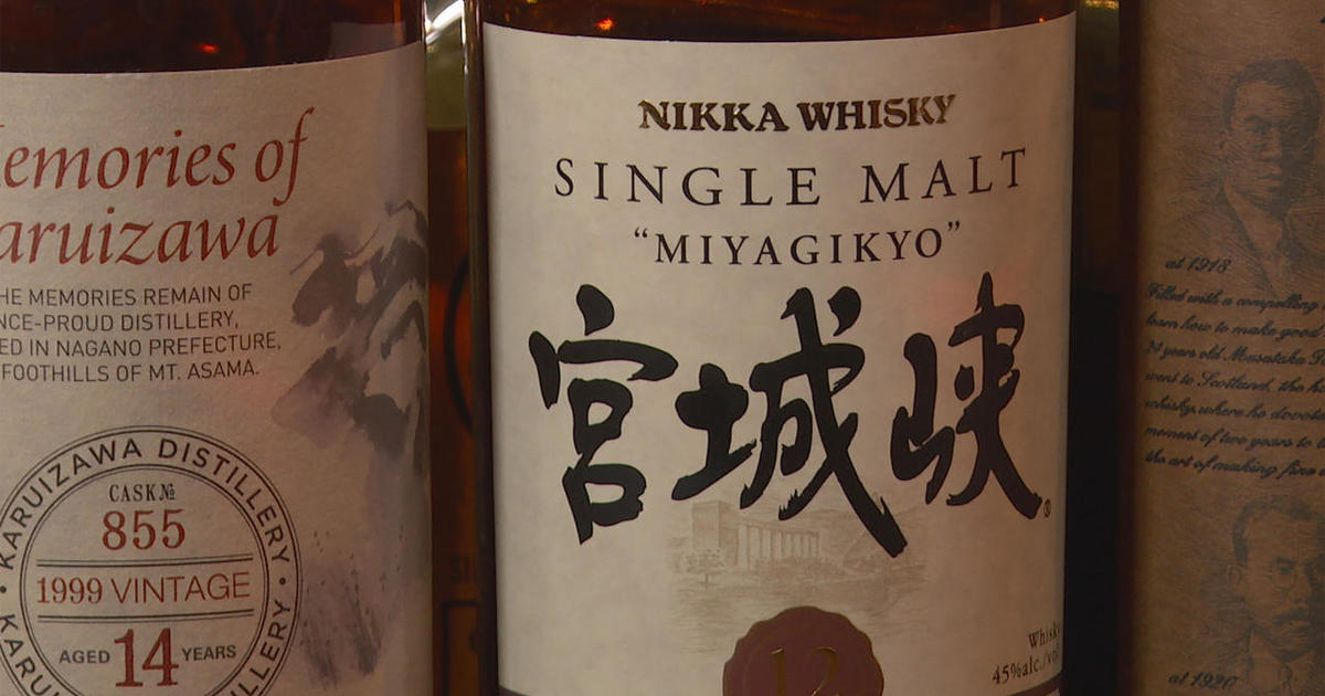 Whisky from the Land of the Rising Sun - CBS News